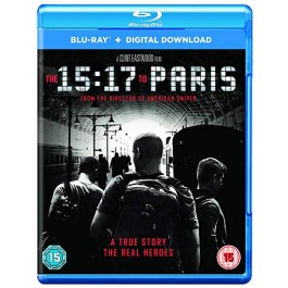 The 15:17 to Paris [Blu-ray+DL]