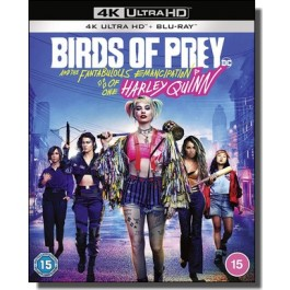 Birds of Prey: And the Fantabulous Emancipation of One Harley Quinn [4K Ultra HD+ Blu-ray]
