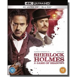 Sherlock Holmes: A Game of Shadows [4K UHD+ Blu-ray]