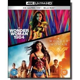 Wonder Woman + Wonder Woman 1984 [2x 4K UHD+ Blu-ray]