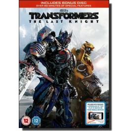 Transformers: The Last Knight [DVD]