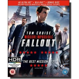 Mission: Impossible - Fallout [4K UHD+2Blu-ray]