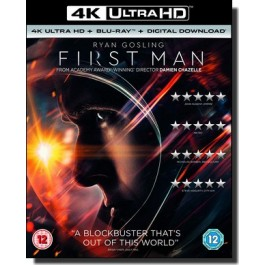First Man [4K UHD+Blu-ray+DL]
