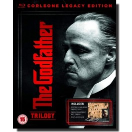 The Godfather Trilogy: Corleone Legacy Edition [4x Blu-ray]