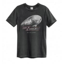 Led Zep Dazed Confused Amplified Vintage Charcoal Medium T Shirt