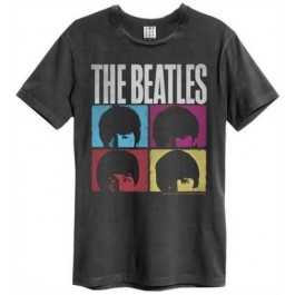 Beatles Hard Days Night Amplified Vintage Charcoal XX Large T Shirt