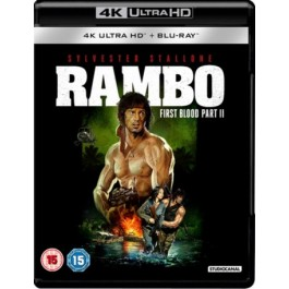 Rambo: First Blood Part II [4K Ultra HD + Blu-ray]