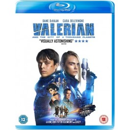 Valerian and the City of Thousand Planets [Blu-ray]