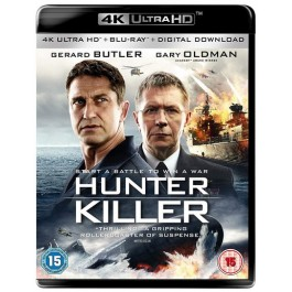 Hunter Killer [4K UHD+Blu-ray+DL]