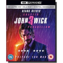 John Wick: Chapter 3 - Parabellum [4K UHD+Blu-ray+DL]