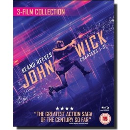 John Wick: 3-film Collection [3Blu-ray]