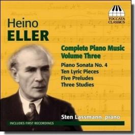 Complete Piano Music Volume Three [CD]