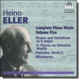 Complete Piano Music Volume Five [CD]