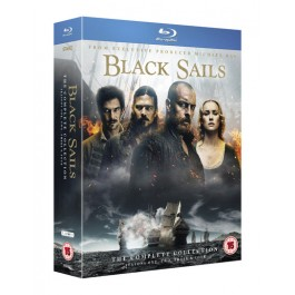 Black Sails: The Complete Collection (Seasons 1-4) [13Blu-Ray]