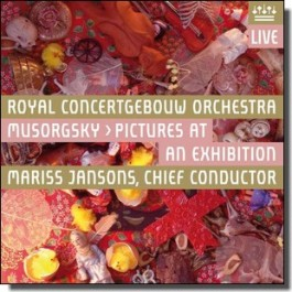 Mussorgsky: Pictures at an Exhibition [CD]
