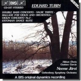 Double Bass Concerto | Valse Triste | Violin Concerto No. 2 [CD]