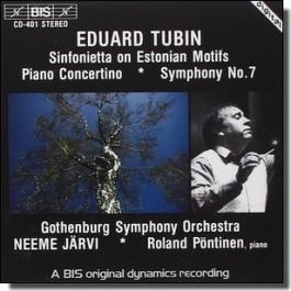 Sinfonietta on Estonian Motifs | Piano Concertino | Symphony No. 7 [CD]