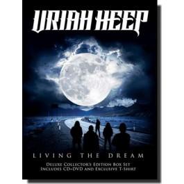 Living the Dream [Deluxe Box] [CD+DVD+T-Shirt, L]