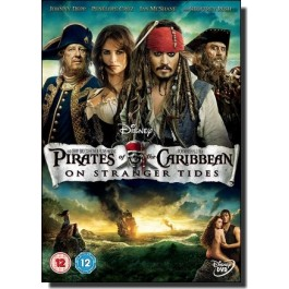 Pirates of the Caribbean 4: On Stranger Tides [DVD]
