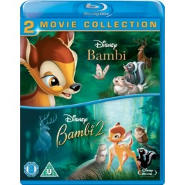 Bambi + Bambi 2 - The Great Prince of the Forest [2x Blu-ray]