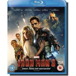 Raudmees 3 | Iron Man 3 [Blu-ray]