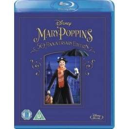 Mary Poppins [50th Anniversary Edition] [Blu-ray]