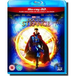 Marvel's Doctor Strange [2D+3D Blu-ray]
