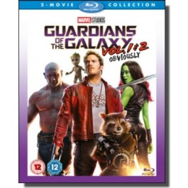 Guardians of the Galaxy: Vol. 1 & 2 [2x Blu-ray]