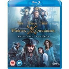 Pirates of the Caribbean 5: Salazar's Revenge [Blu-ray]