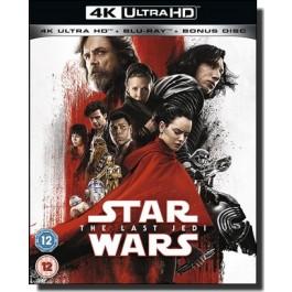 Star Wars: Episode VIII - The Last Jedi [4K UHD+Blu-ray]