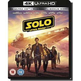 Solo: A Star Wars Story [4K UHD+Blu-ray]