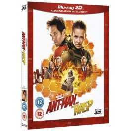 Ant-Man and the Wasp [2D+3D Blu-ray]
