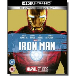 Iron Man [4K Ultra HD+ Blu-ray]