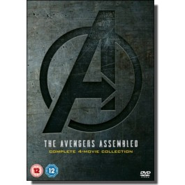 The Avengers Assemled: Complete 4-movie Collection [4x DVD]