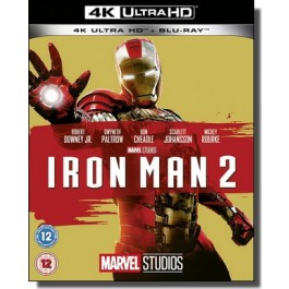 Iron Man 2 [4K Ultra HD+ Blu-ray]