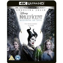 Maleficent: Mistress of Evil [4K Ultra HD + Blu-ray]