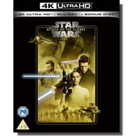 Star Wars Episode II: Attack of the Clones [4K UHD+ Blu-ray]