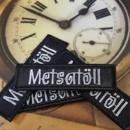 Tikitud embleem - Metsatöll | Embroidered emblem - Metsatöll (1 tk)