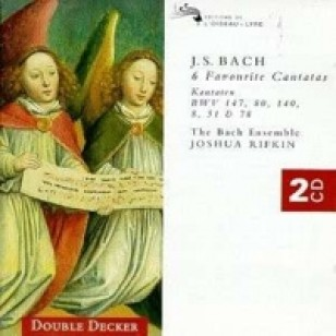 6 Favourite Cantatas (BWV 8, 51, 78, 80, 140, 147) [2CD]
