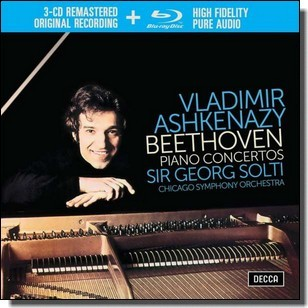 Piano Concertos [3CD+Blu-ray Audio]