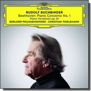 Beethoven: Piano Concerto No. 1 | Piano Variations Op. 34 [CD]