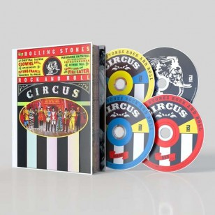 The Rolling Stones Rock and Roll Circus, December 1968 [Deluxe Edition] [2CD+DVD+Blu-ray]