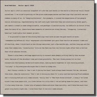 Suite: April 2020 [CD]