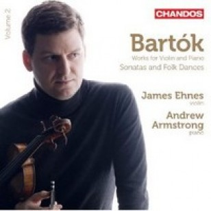 Works For Violin and Piano: Sonatas and Folk Dances [CD]