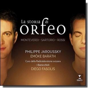 La Storia di Orfeo [CD]