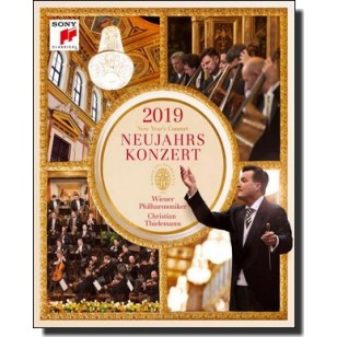 Neujahrskonzert / New Year's Concert 2019 [Blu-ray]