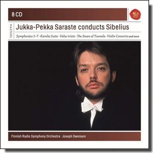Jukka-Pekka Saraste Conducts Sibelius [8CD]