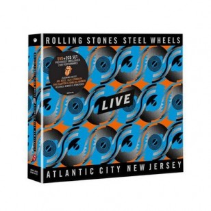 Steel Wheels Live (Atlantic City 1989) [DVD+2CD]
