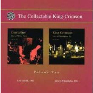 The Collectable King Crimson Volume 2 - Live 1981 & 1982 [2CD]