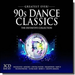 Greatest Ever 90S Dance Classics [3CD]